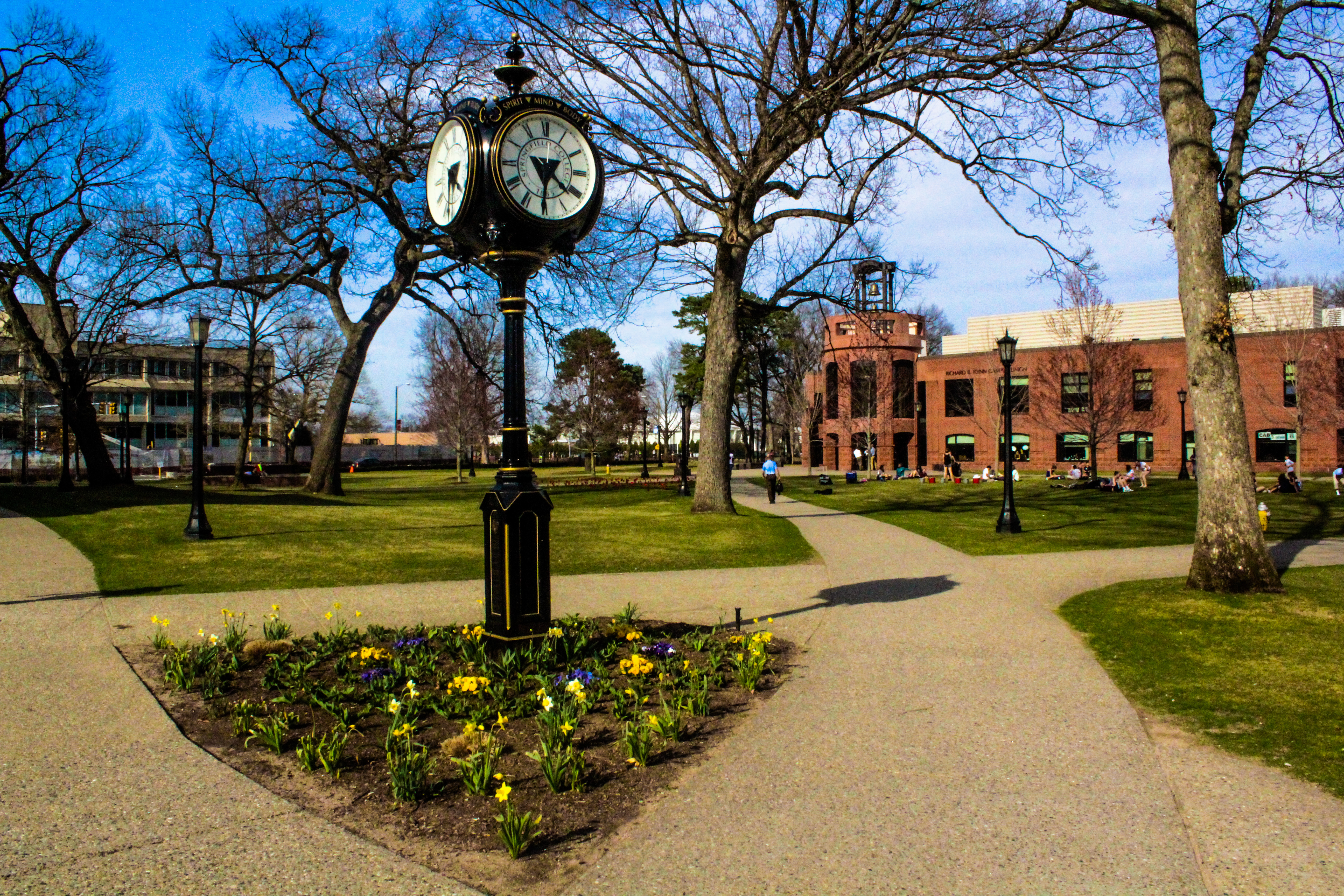 Springfield College Tuition >> Spring Has Sprung Springfield College Community Takes To