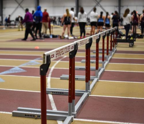 indoortrackandfield-homeopener-hurdles