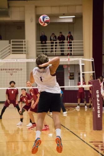 men's volleyball - regis - eli gabriel irizarry pares