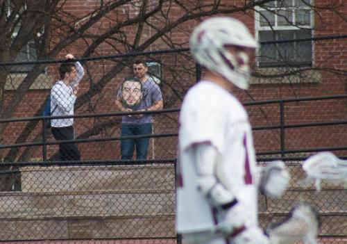 Men's Lacrosse - Emerson - Fan with McCarthy cutout